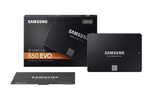 "Samsung 860 EVO 500GB Internal 2.5"" (MZ-76E500B/AM) SSD"